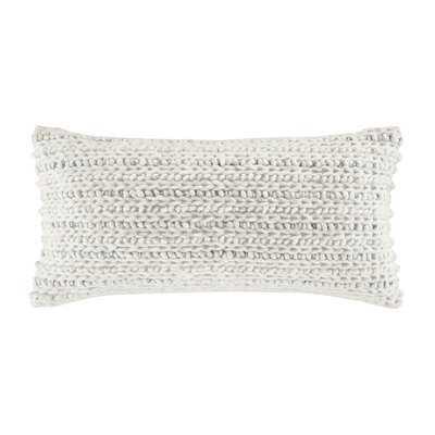 Westhamptom Pillow Lumbar Decorative Throw Pillow Grey - Wayfair