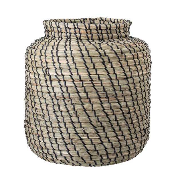 Handwoven Seagrass Basket - Moss & Wilder