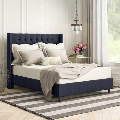 Davina Upholstered Standard Bed - Wayfair
