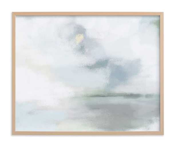 Monday Blues Limited Edition 30x24 Art Print in Natural Frame - Minted