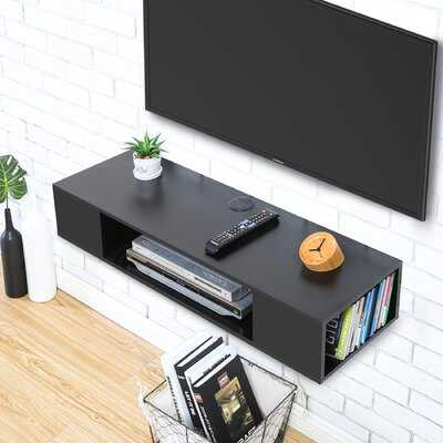 """Amanzia Floating TV Stand for TVs up to 55"""" - Wayfair"""