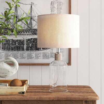 "Cabrera 21.25"" Clear Table Lamp - Birch Lane"