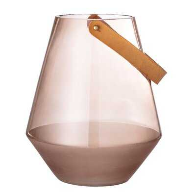 Shaftesbury Transparent Glass Table Vase - Wayfair
