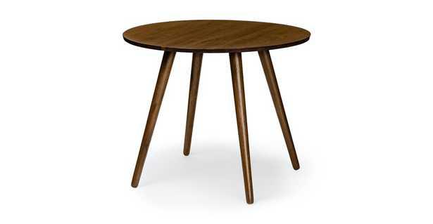 "Seno Walnut 36"" Round Dining Table - Article"