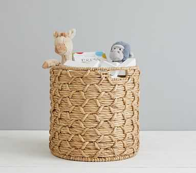 Sutton Woven Storage, Toy Dump - Pottery Barn Kids