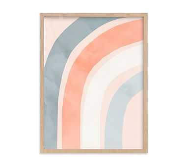 Minted(R) Spring Rainbow Wall Art by Iveta Angelova; 18x24, Natural - Pottery Barn Kids