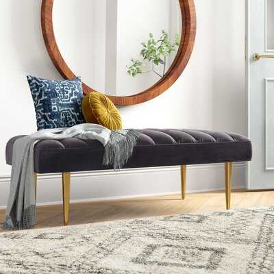 Hollain Upholstered Bench - Wayfair