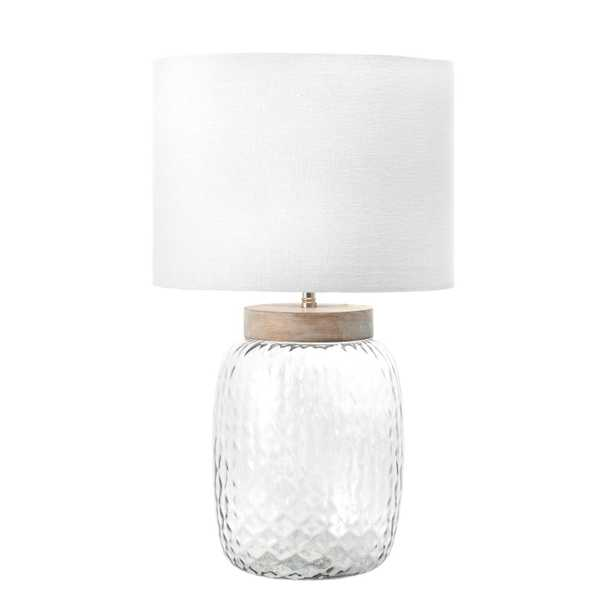 """Haines 20"""" Glass Table Lamp - Loom 23"""