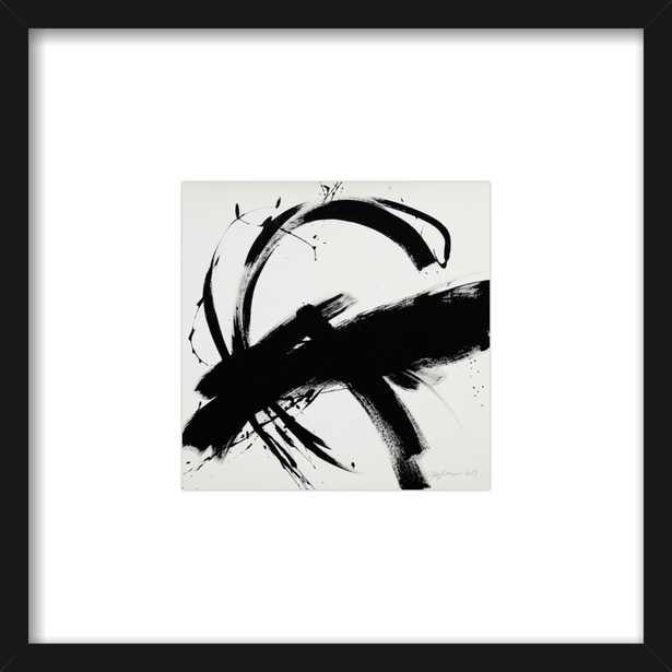 B + W #1 by Jill Sykes for Artfully Walls - Artfully Walls