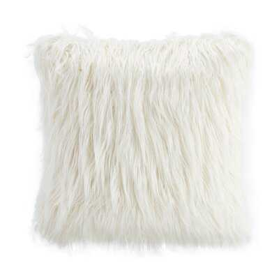Corin Square Faux Fur Pillow Cover - Wayfair
