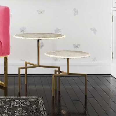 Bhavin 2 Piece Nesting Tables - Wayfair