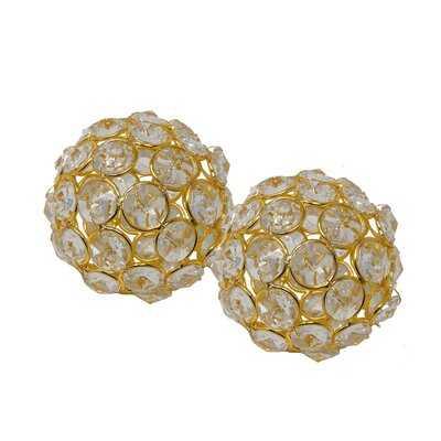 Jadiel Facetas Crystal Spheres - Wayfair