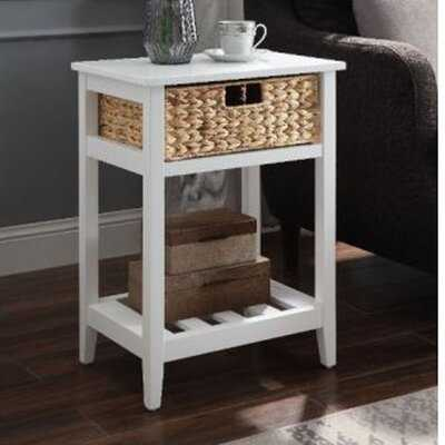 Turin 1 - Drawer Solid Wood Nightstand - Wayfair