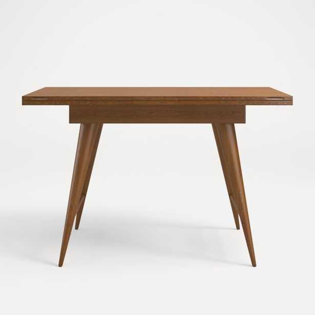 Olivier Nero Noce Flip Top Desk - Crate and Barrel