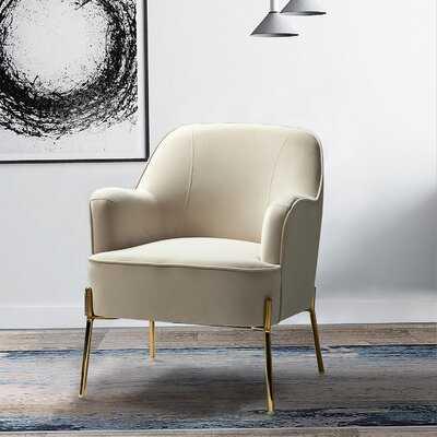 """Dallin 28"""" Wide Velvet Armchair - Wayfair"""