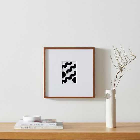 Wood Gallery Frames Walnut 12x12 - West Elm