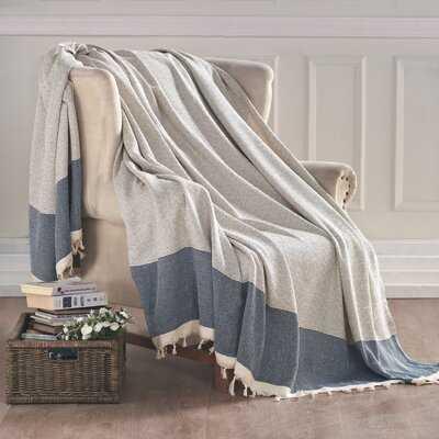 Aldo Turkish Cotton Throw Blanket - Birch Lane