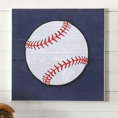 Simonetti Baseball Sports Center Paper Print - Birch Lane