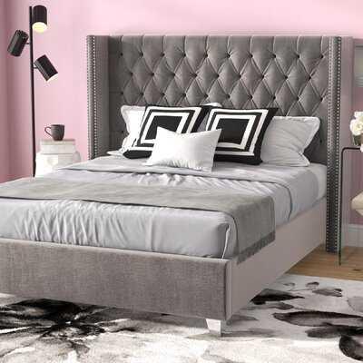 Jennie Upholstered Platform Bed - Wayfair