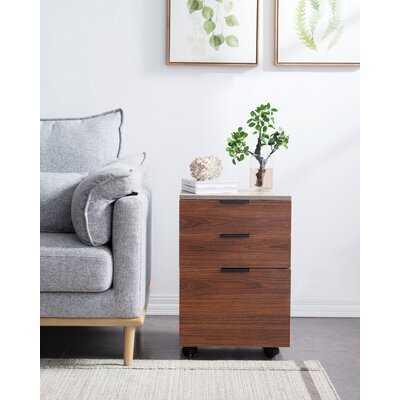 Horace 3-Drawer Mobile Vertical Filing Cabinet - Wayfair