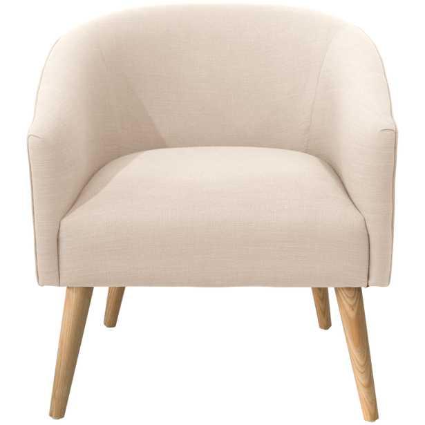 Printer's Row Chair in Linen Talc - Third & Vine