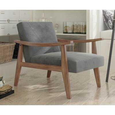 """Fletcher 27.5"""" Wide Polyester Armchair - Wayfair"""