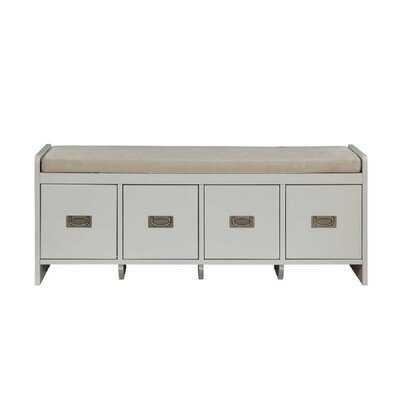 Bipnesh Polyester Blend Storage Bench - Wayfair
