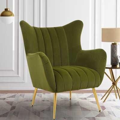 Barry Wingback Chair - Wayfair