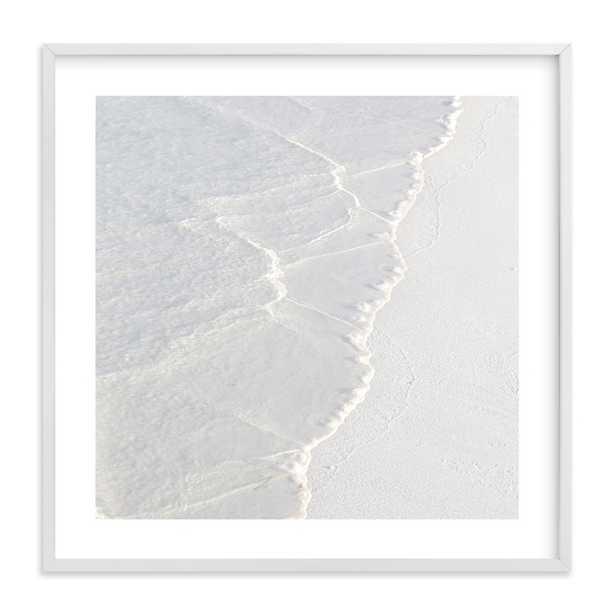 White Water Art Print - Minted