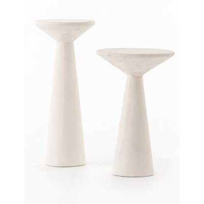Pedestal Nesting Tables - Wayfair