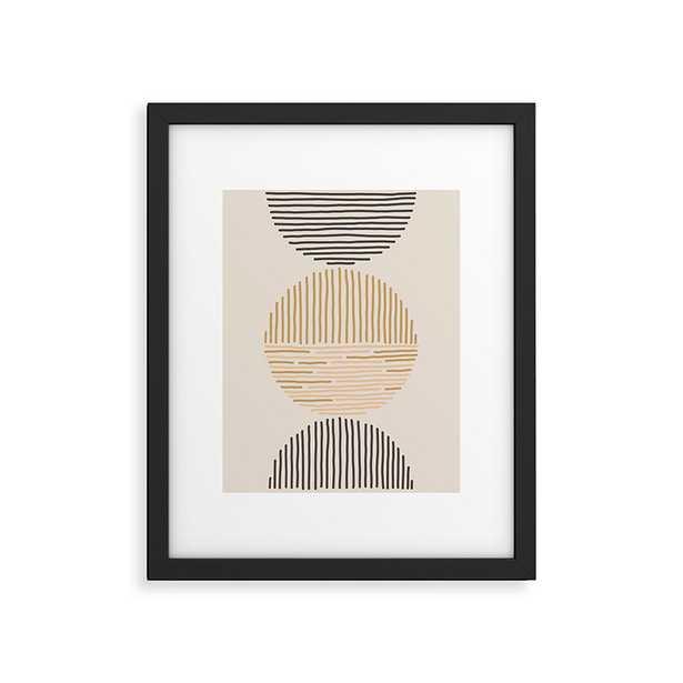 "One Last Swim by Urban Wild Studio - Modern Framed Art Print Black 16"" x 20"" - Wander Print Co."
