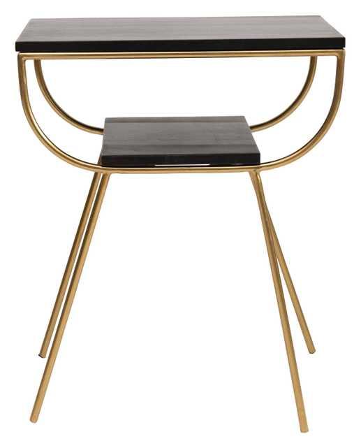 Raydon Wood Accent Table - Studio Marcette