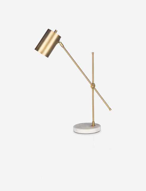 Gene Table Lamp, Gold - Lulu and Georgia