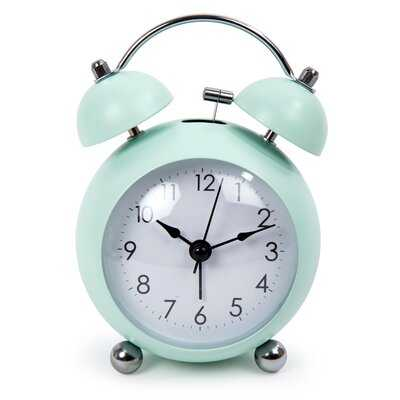 Round Bell Alarm Clock - Wayfair