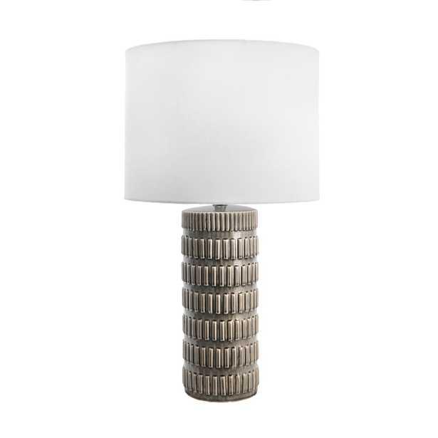 """Franklin Ceramic Table Lamp, 25"""" - Loom 23"""