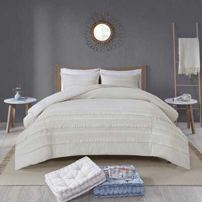 Cotton Seersucker Comforter Set - AllModern