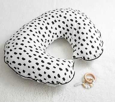 Black Brush Stroke Nursing & Infant Support Pillow Slipcover Only - Pottery Barn Kids