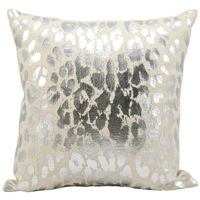 Gamsaragan Metallic Leopard Throw Pillow - Wayfair