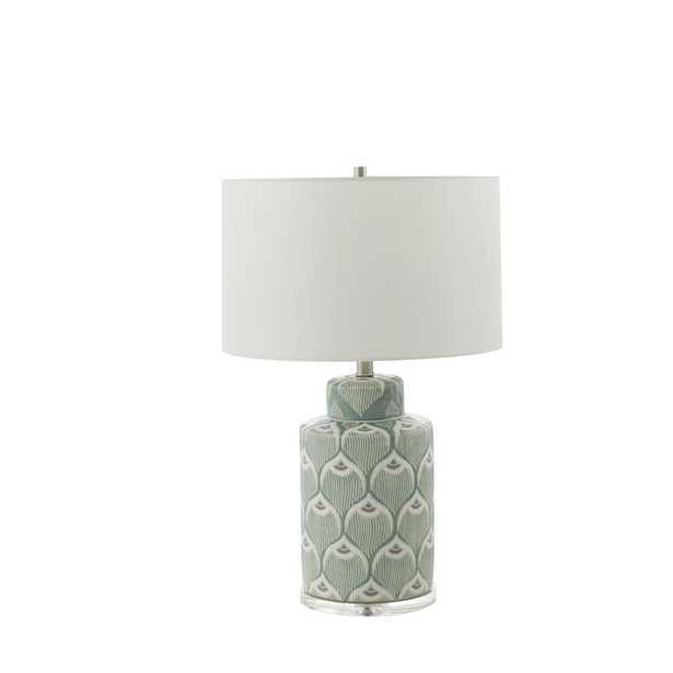 """Gabby 25.25"""" Mint Table Lamp"" - Perigold"