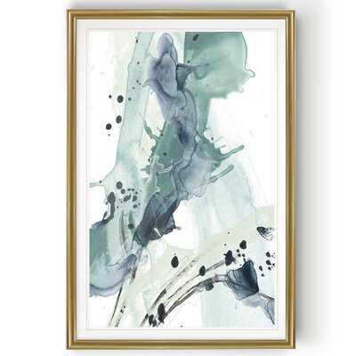'Deep Splash I' - Painting Print on Canvas - Wayfair