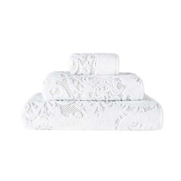"Graccioza Iris Hand Towel Towel Size: 18"" W x 30"" L - Perigold"