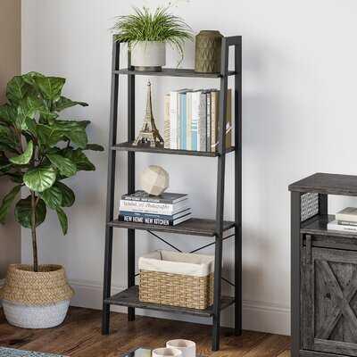 "Parikh 54.1"" H x 22.1"" W Steel Etagere Bookcase - Wayfair"