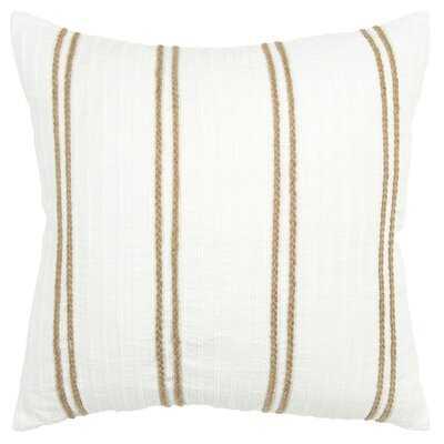 Square Cotton Pillow Cover & Insert - Birch Lane