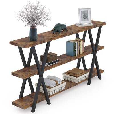 Sofa Table, TV Console Table, Narrow Long Sofa Table With Storage For Entryway - Wayfair