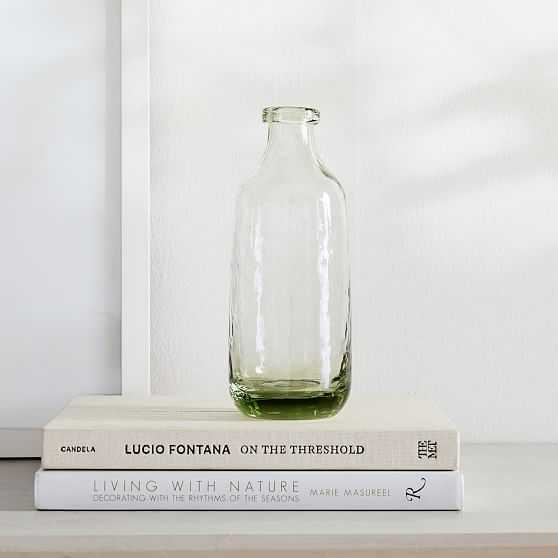 """Green Glass Vase, Small 8.3""""h - West Elm"""