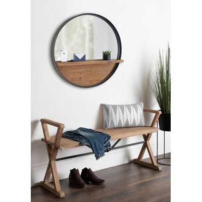 Catoosa Distressed with Shelves Accent Mirror - Wayfair