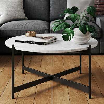Yousuf Cross Legs Coffee Table - Wayfair