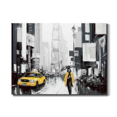 New York City II - Wrapped Canvas Print - Wayfair