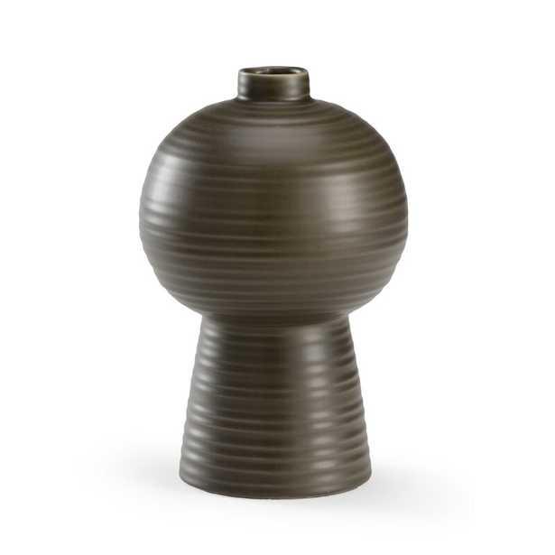 "Wildwood Koota Table Vase Color: Pepper, Size: 12"" H x 6"" W x 6"" D - Perigold"