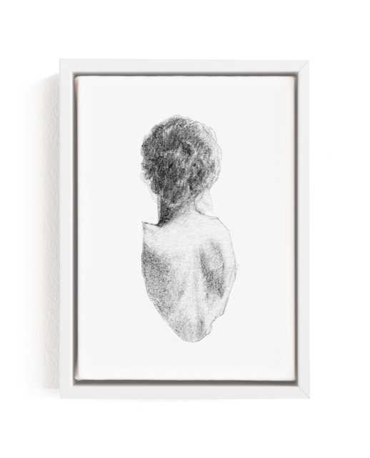 Figure Drawing No.17 Art Print - Minted